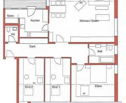 Erstbezug, Großzügige 5-Zim. Dachgeschoss Neubauwohnung mit Balkon in Karlsbad