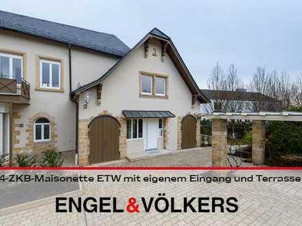 Schicke 4-ZKB-Maisonette ETW mit eigenem Eingang und Terrasse!