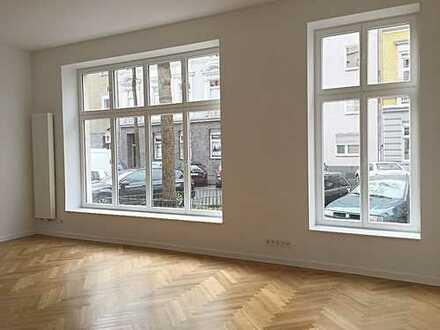 Tolles Büro im Erdgeschoss eines Wohnhauses im schönen Unterbilk