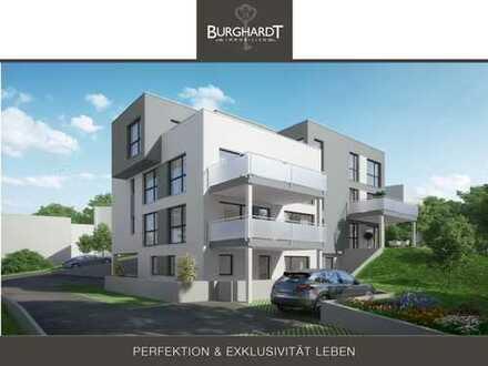 Bad-Vilbel - Niederberg: 2 Zimmer Gartenwohnung - Elegantes Wohnen mit Taunusblick