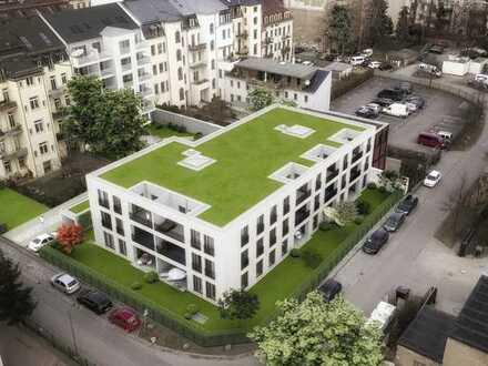 """Gö16"" DD-Neustadt - großzügige 3 RWG - ruhige Lage im Gartenhaus"