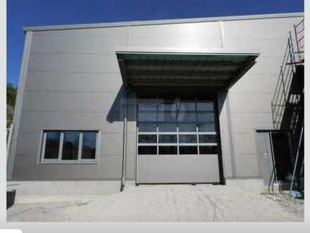Neubau Halle 525 m² zu vermieten