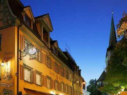 Historisches Gasthaus in Radolfzeller Innenstadt: Hotel mit 17 Fremdenzimmern, Restaurant, Gewölbeke