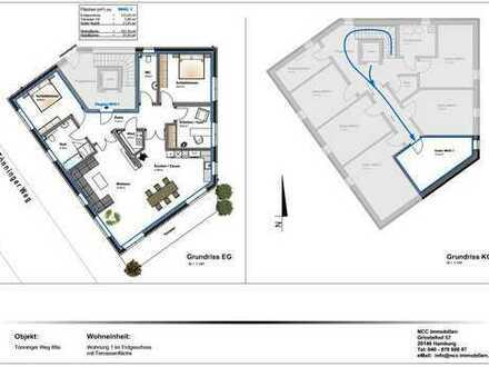 Exklusive 4-Zimmer Neubauwohnung mit eigenem Garten