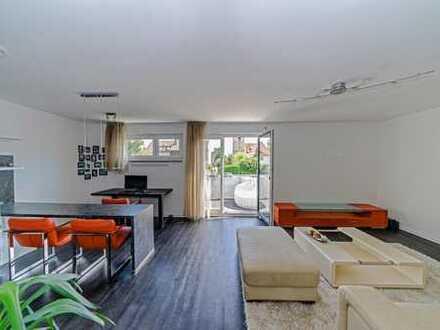 Hochwertig ausgestattete Top-Wohnung mit großem Südbalkon und Garage in 5-Familienhaus