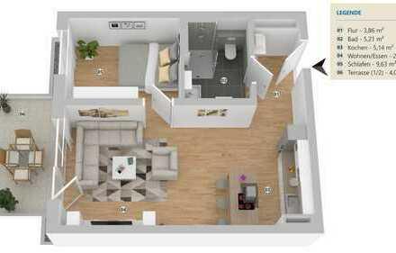 Moderne, funktionale Neubauwohnung in zentraler Lage