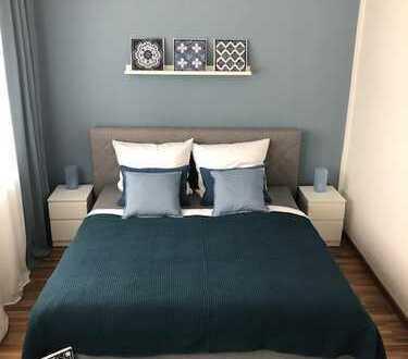 Erstbezug nach Renovierung, möblierte 3 Zimmer-Wohnung, ideal für Berufspendler, in Heusenstamm
