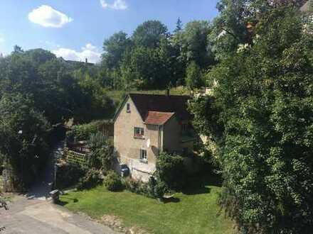 *Gelegenheit* individuelles Stadthaus am Fluss -kl.Garten+Terrasse–ruhige Lage–ab sofort Frei!