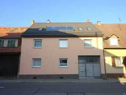 2-Familienhaus mit Bauplatz für 2 Doppelhaushälften und Garten