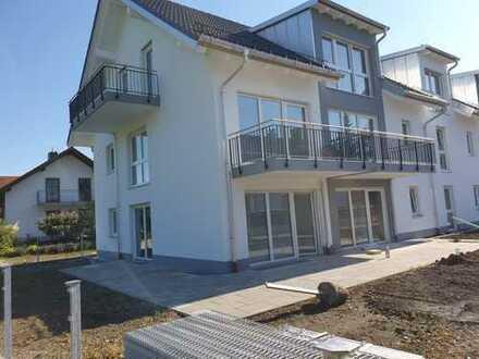 NEUBAU ERSTBEZUG ! großzügige 3-Zimmer-Maisonette-Wohnung mit Garten