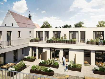 Neubau in Dillingen - Wohnen und Einkaufen am Kapuzinergarten - Wohnung 23