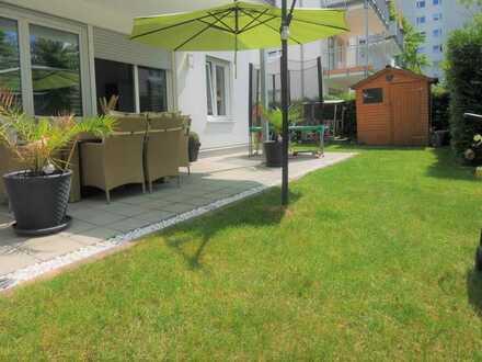 Neuwertige 3 Zimmer Gartenwohnung mit XL-Terrasse