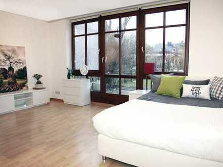 Rarität 1-Zimmer Appartement mit Gartenanteil !