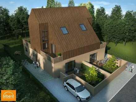 albero:) das Haus mit dem Holzdach