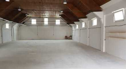 #Traitteur - sanierte Halle für Gewerbe oder Hobby