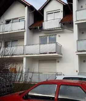 Sanierte 2-Zimmer-Wohnung mit Balkon in Höchstädt an der Donau