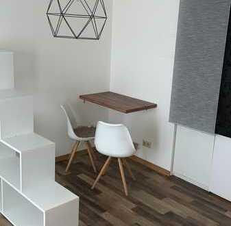 Modernisierte 1-Zimmer-Erdgeschosswohnung mit Pantryküche in Mannheim