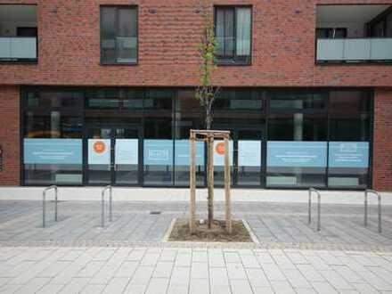 Erstbezug Bramfelder Dorfplatz - Ladenfläche zu vermieten!