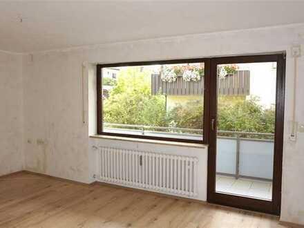 Platz für die Familie - 5Z-Wohnung mit Balkon und Gartenmitbenutzung
