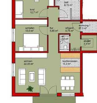 3,5 Zi. Wohnung in Bonfeld