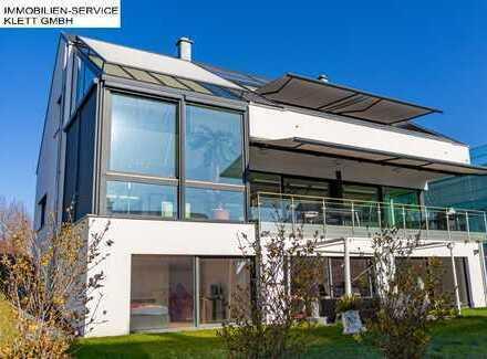 Modernes, neuwertiges und exklusives Einfamilienhaus in exponierter Lage