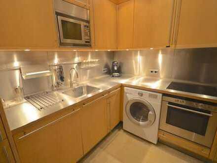 Wohnen im Sony-Center !! Kompakte 2-Zimmerwohnung mit tollem Grundriss und Concierge-Service in Top-