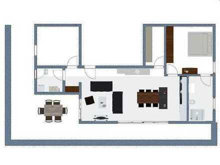 Neue Penthouse Wohnung, 100 m², Erstbezug