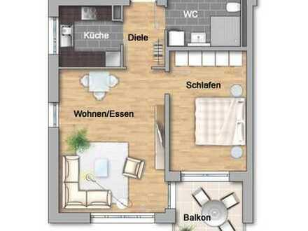 Helle 2-Zimmerwohnung im Betreuten Wohnen