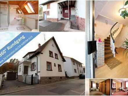 BIETERVERFAHREN - Gemütliches Einfamilienhaus mit Nebengebäude, Innenhof, Garage und Garten