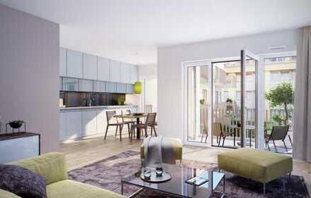 Kapitalanleger aufgepasst! 2-Zimmer-Wohnung mit Süd-Ausrichtung