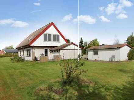 Kleines Einfamilienhaus sofort beziehbar in Kruså