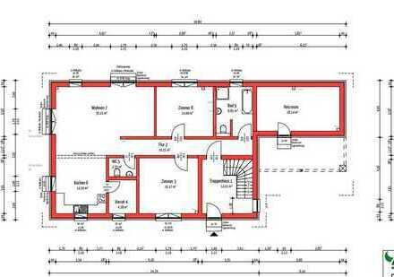 Projekt: Großzügige 3-Zimmer Wohnung in Gründelhardt
