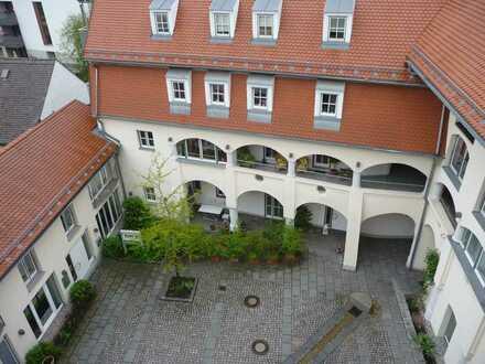 Toplage über den Dächern von Landsberg