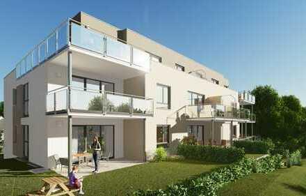Gartengeschoss 3,5 Zimmer mit Terrasse und 102m² Gartenanteil