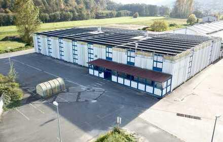Gewerbe & Handel Halle 2400qm Kühlräume