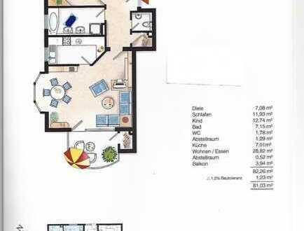 Helle 3,5-Zimmer-Wohnung mit Balkon in Untergruppenbach-Donnbronn