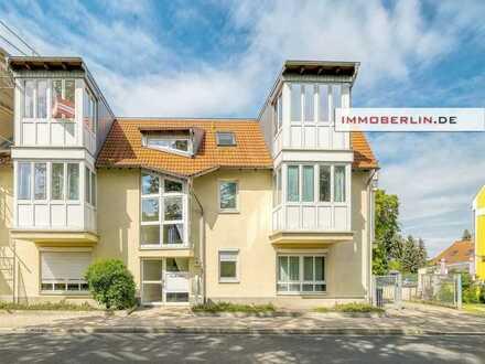 IMMOBERLIN.DE - Charmante Wohnung mit Sonnenterrasse im Ortskern