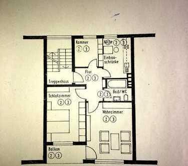 Gepflegte 3-Zimmer-Wohnung mit Balkon und EBK in Bad Wörishofen