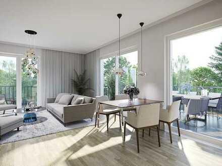 Ökonomische 2-Zimmer-Wohnung mit Sonnenbalkon im Mittelpunkt der Metropolregion Rhein-Main
