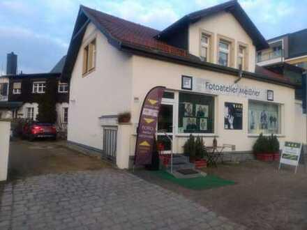Zentral und doch ruhig gelegenes Büro/Praxis in Radebeul