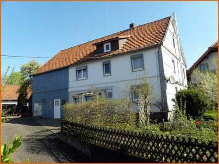 Hübsches Bauernhaus mit Nebengebäude und gemütlichem Bauerngarten in Schlüchtern-Gundhelm