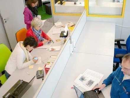 Möbliertes Büro mit Service – sofort bezugsfertig – provisionsfrei!