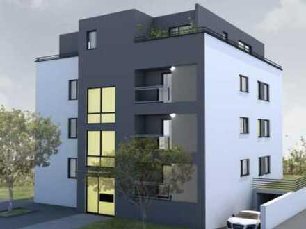Stadtvilla, Neubau mit EBK, Balkon, Klimaanlage - exklusive 3-Zimmerwohnung in Gartenstadt mit TG