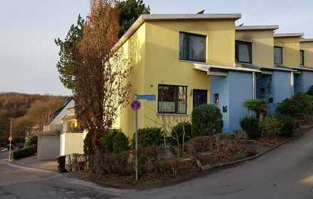 Reihenanfangshaus mit toller Aussicht, Garten und zzgl. integrierte Garage