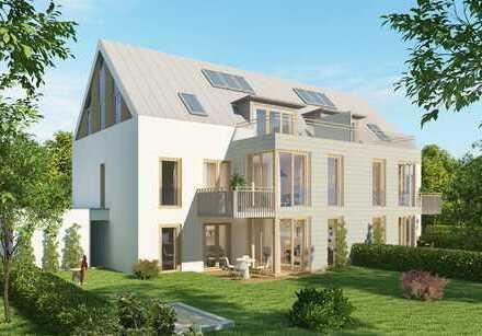 Neubau einer tollen großzügigen 3-Zimmer-Gartenwohnung in der Münchner Lerchenau