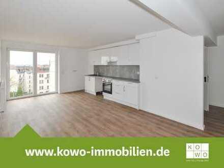 3-Zimmer-Wohnung mit Einbauküche, Dachterrasse und Design-Vinylbelag in Zentrumsnähe