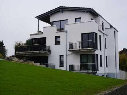 Erstbezug mit Balkon: stilvolle 3,5-Zimmer-Penthouse-Wohnung in Groß-Bieberau