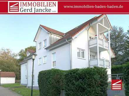 Baden-Baden, attraktiv geschnittene 3-Zimmer-Wohnung mit Balkon& TG-Stellplatz