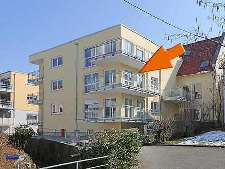 Neubau-Mietwohnung Erstbezug mit Aufzug und zwei Balkonen