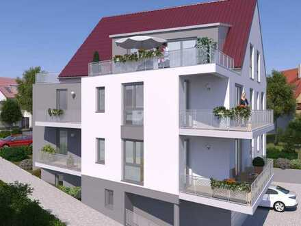 Neubauwohnung mit großer Dachterrasse